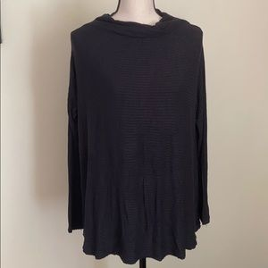 We The Free Black Knitted Long Sleeve Open Back S